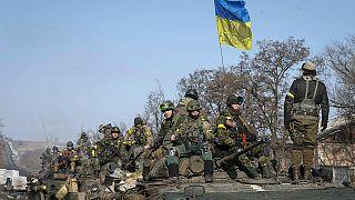 یک روز پس از توافق آتش بس نبرد در اوکراین شدت گرفت