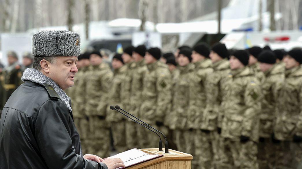 Ucrânia: Petro Poroshenko duvida que cessar-fogo seja respeitado