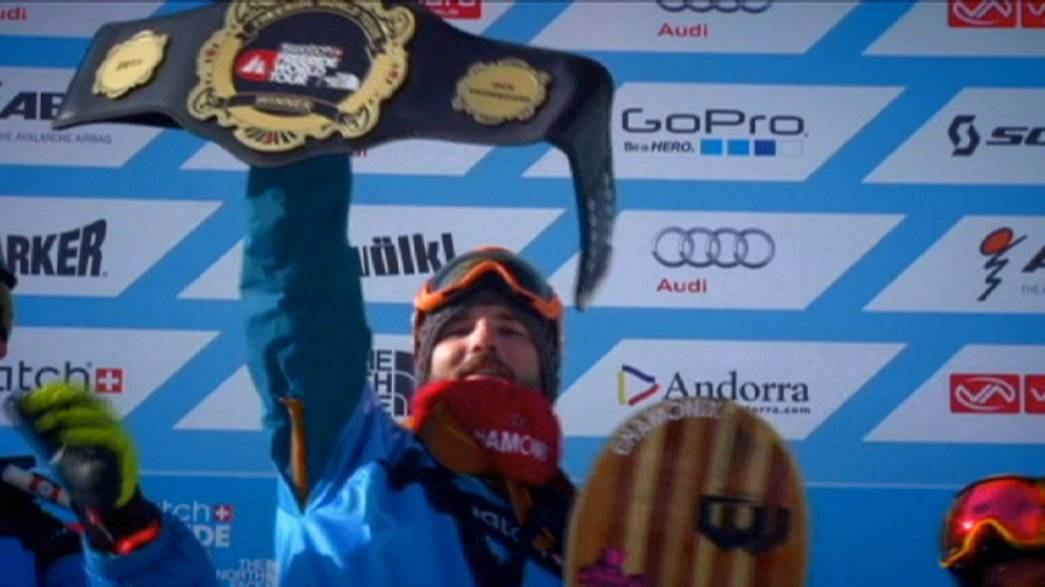 Freeride World Tour: Sam Smoothy shines in Andorra