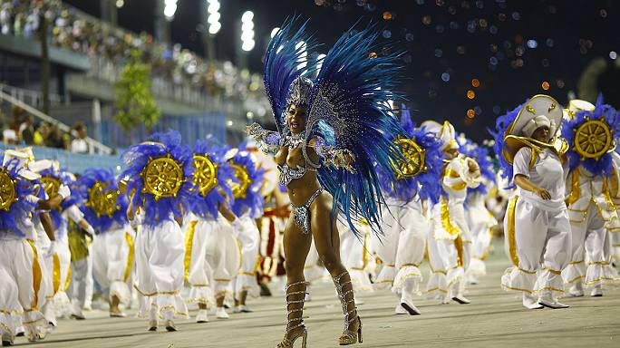 Brazilians party on at Carnvial despite drought and economic concerns