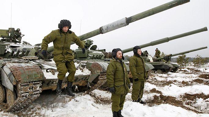 قتال عنيف شرق أوكرانيا قبل دخول وقف النار حيز التنفيذ