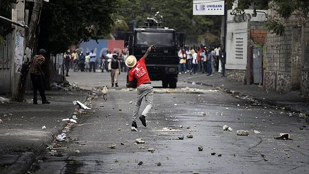 Haiti protesters call for 50 percent cut in fuel price