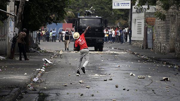 Nouvelles manifestations contre le prix de l'essence en Haïti