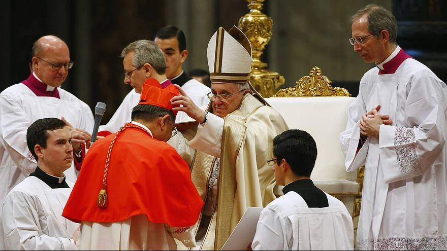 Pope Francis elevates 20 new cardinals many from developing countries
