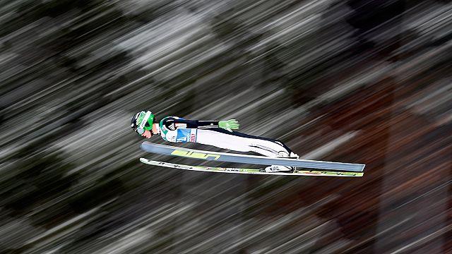 Prevc breaks world record in Vikersund