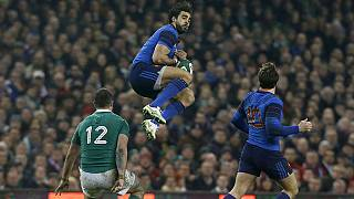 L'Angleterre et l'Irlande en tête du tournoi des Six Nations
