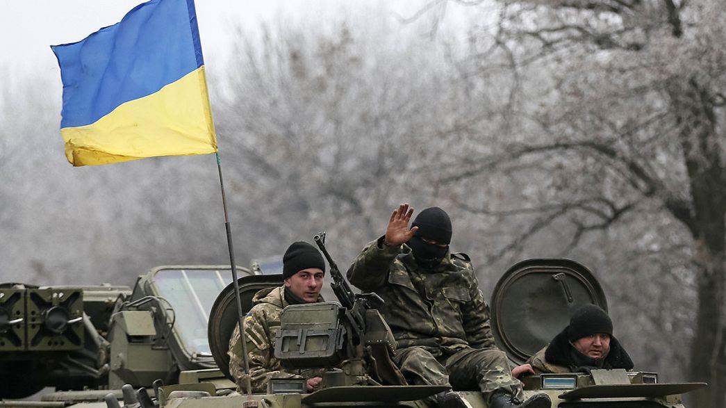Ucraina, prima della tregua ultimi scontri attorno a Debaltseve