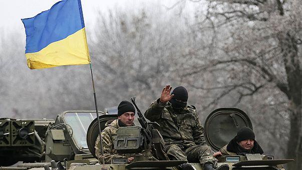 معارك عنيفة شرق أوكرانيا قبيل دخول وقف النار حيز التنفيذ