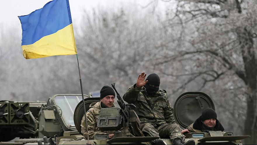 Strategic Ukrainian towns fall silent at midnight
