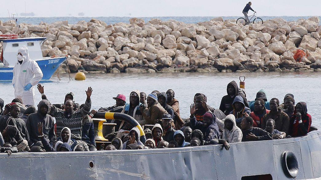 Nuevo rescate de inmigrantes junto Lampedusa