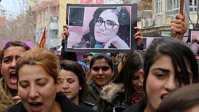 Turkey women protest over slaying of student 'who resisted rape'