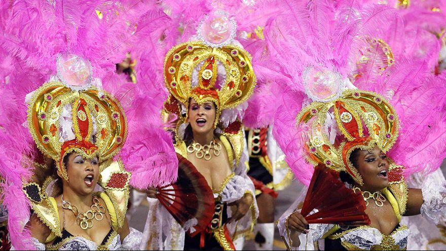 Carnaval de Rio : place à la compétition des écoles de Samba