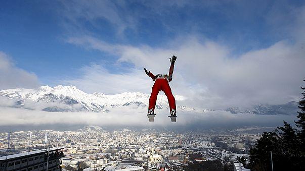 """النرويجي """"أندارس فانيمال"""" يحطم الرقم القياسي في مسابقة النزول على الثلج"""