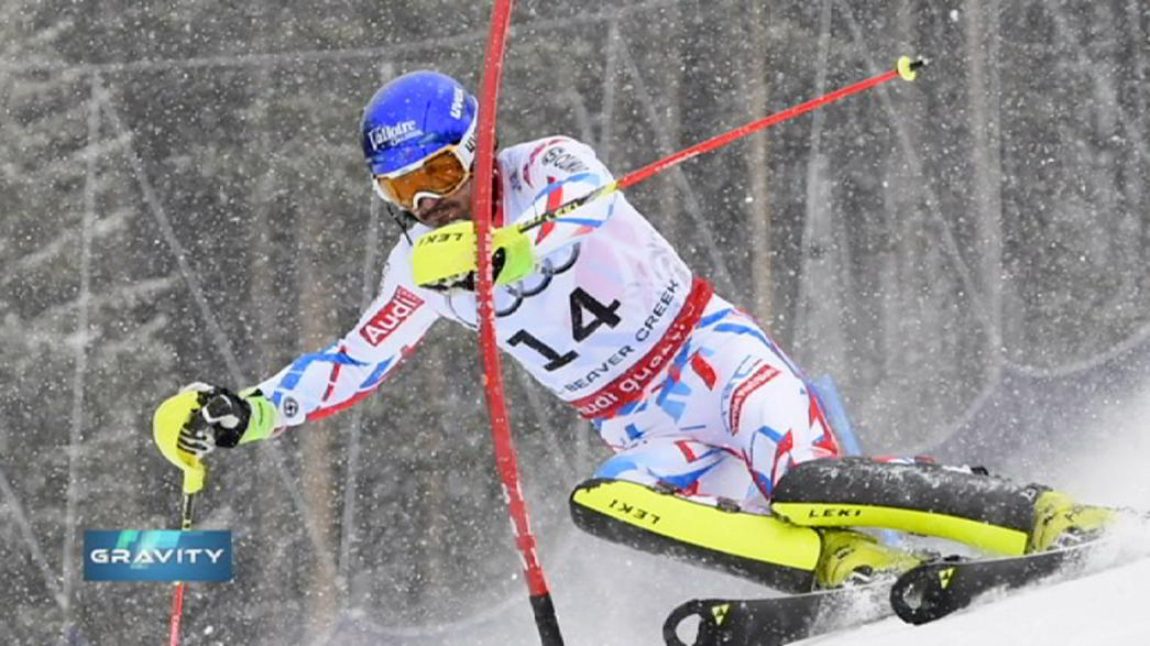 Grange clinches World Championship slalom