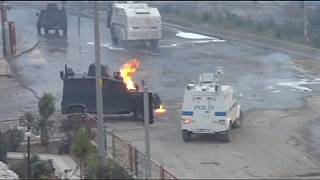 Kurds and Turkish police clash on anniversary of PKK leader's capture