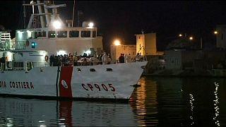 Szicília fogadta az afrikai menekülteket