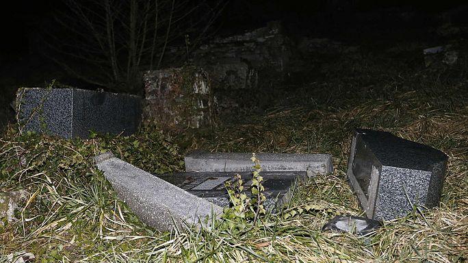 France: des centaines de tombes juives profanées