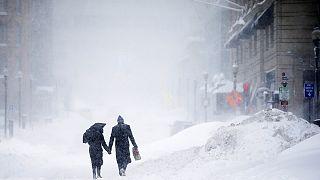 Stati Uniti nordoccidentali sotto una spessa coltre di neve