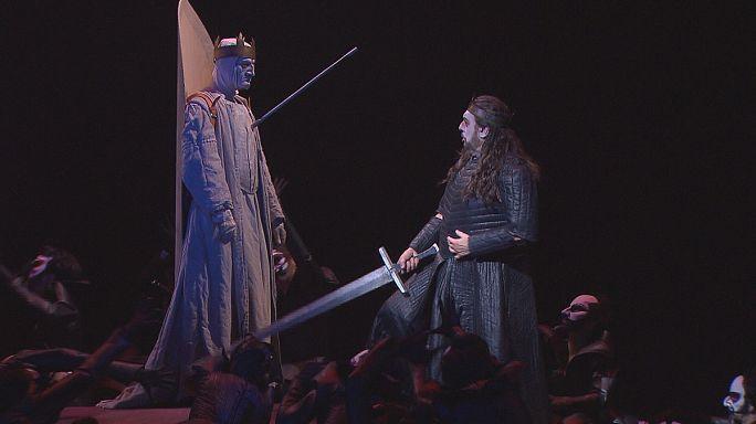 Placido Domingo enlightens in dark Macbeth