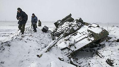 Ukraine: faute de trêve, pas de perspectives de retrait des armes lourdes