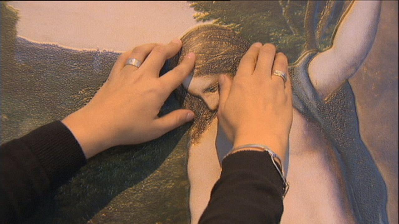 Cegos podem tocar obras do Museu do Prado