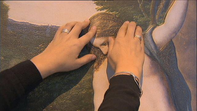 """""""Érintsd meg a Pradót!"""" - ikonikus festmények 3D-ben vakok számára"""
