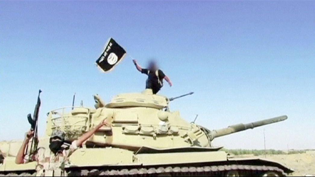 Países do Médio Oriente combatem Estado Islâmico