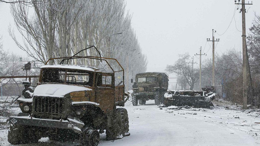 Ucrania: Vuhlehirsk, una ciudad sin tregua