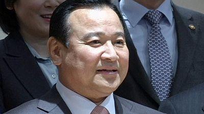 New prime minister for South Korea