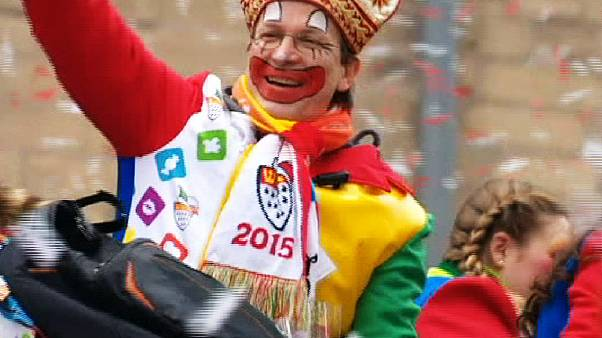 Кёльнский карнавал в разгаре