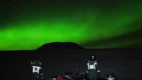 A spectacular Northern Lights show for aurora hunters