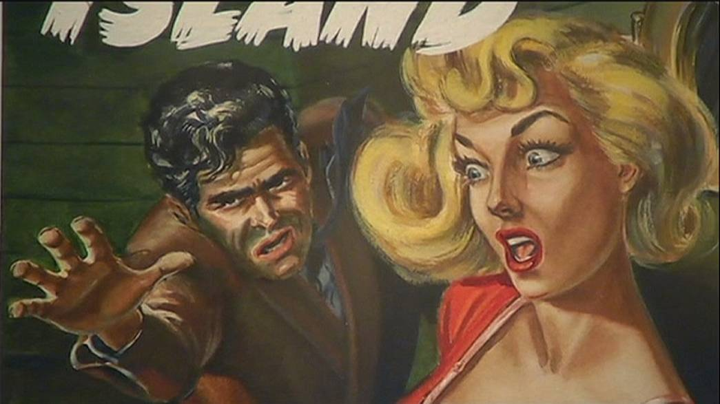 Australia pays tribute to dramatic pulp fiction artwork of the 40's and 50's