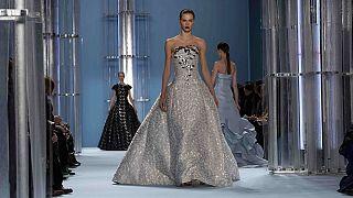 Fashion Week in New York: Meeresrauschen bei Carolina Herrera