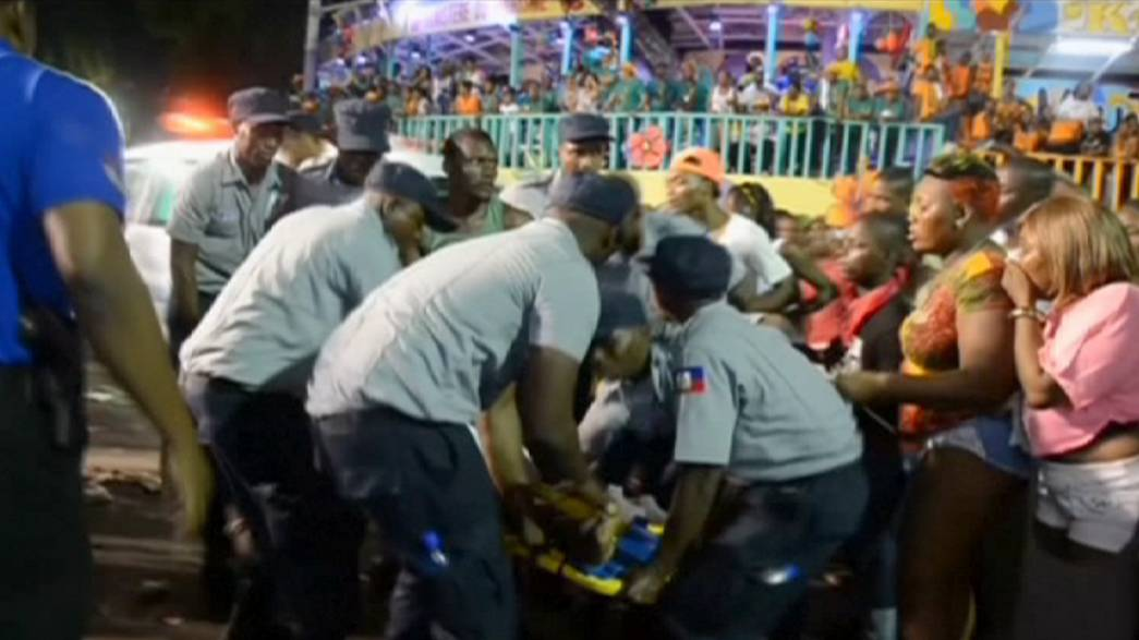 Haiti carnival turns deadly as float catches fire