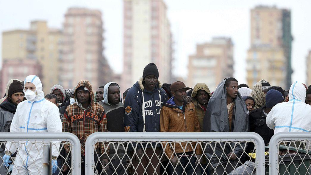Avrupa'ya geçen kaçak göçmen sayısında rekor