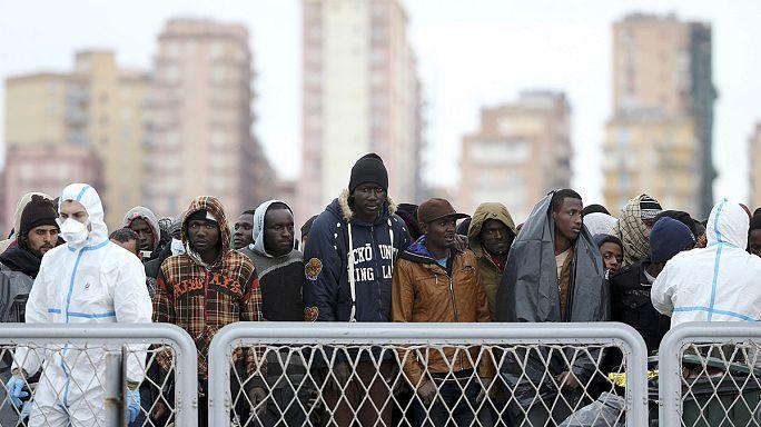 3,800 migrants flee Libya's rising danger since Friday