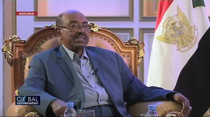 "[Exclusivo] ""Só temo Deus"", Omar al-Bashir, presidente do Sudão"