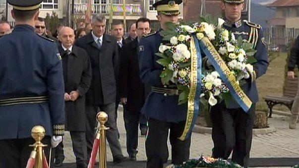 إحتفال متواضع في الذكرى السابعة لإستقلال كوسوفو