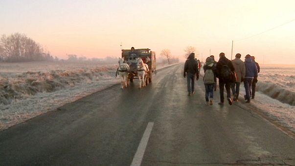 Ziel Deutschland oder Österreich: Zehntausende verlassen den Kosovo
