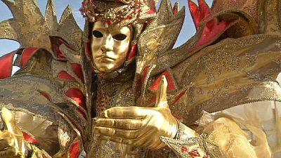 Carnaval de Venise : des étoiles pleins les yeux !