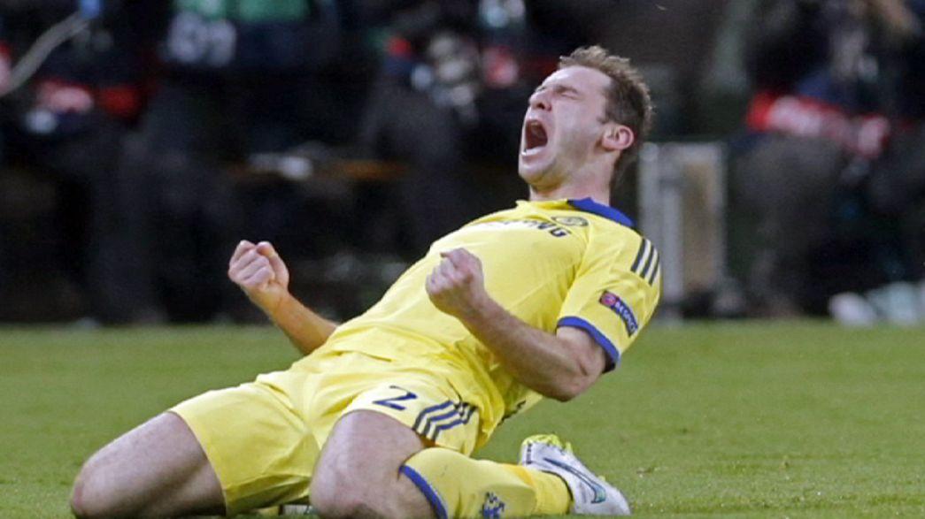 Chelsea satisfeito com empate em Paris
