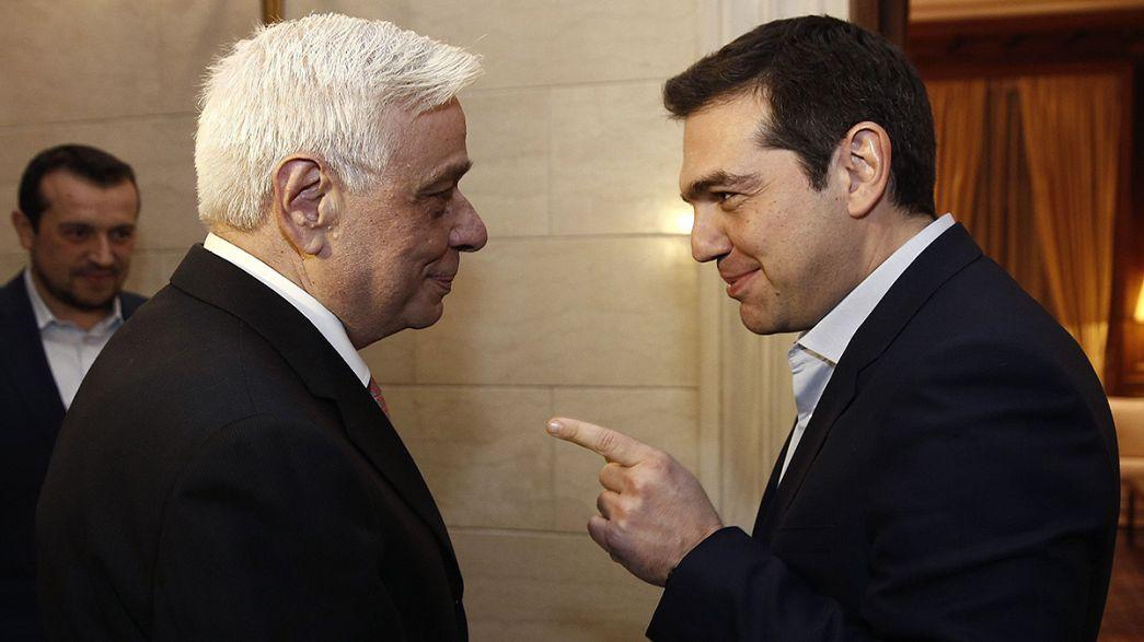 Dal braccio di ferro con l'Eurogruppo all'elezione presidenziale, i giorni difficili di Tsipras