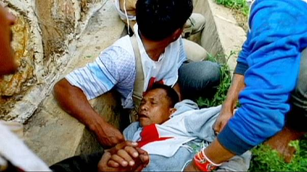 Red Cross volunteers wounded in Myanmar