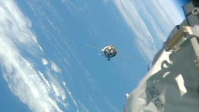Rus kargo aracı Progress, ISS'e kenetlendi