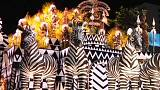 Rio Carnival: samba schools dazzle crowds with spectacular parades
