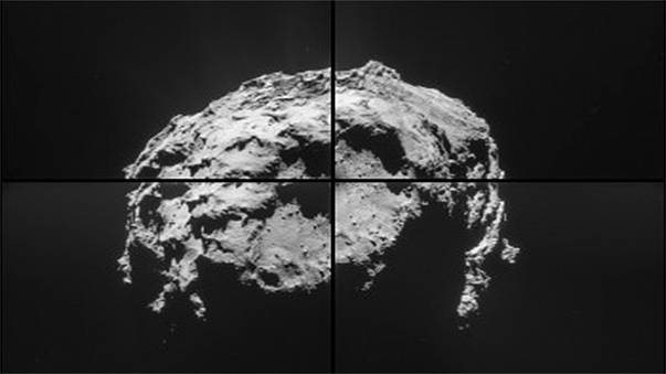 Rosetta captures some of the first 67P comet close-ups