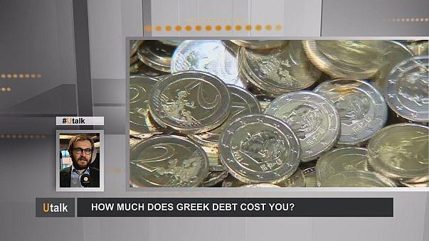 El coste para los contribuyentes europeos del rescate griego