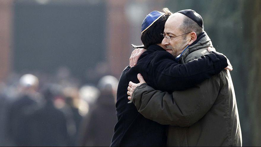 Multitudinario adiós en Copenhague al joven judío asesinado en los atentados