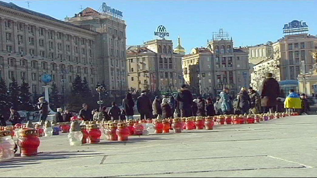 Gespaltene Ansichten zu Debalzewe in Kiew