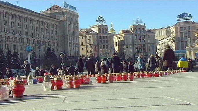 Tristesse des Ukrainiens après la prise de Debaltseve par les séparatistes